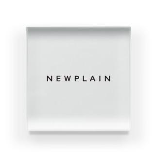 NEWPLAIN Acrylic Block