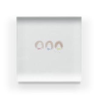 ぷるんっこ Acrylic Block