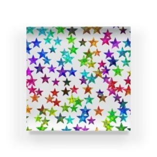 にじ星 Acrylic Block