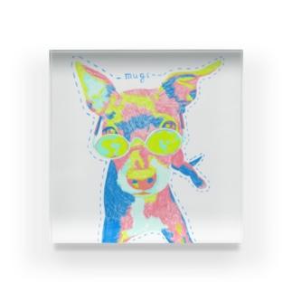 mugi Acrylic Block
