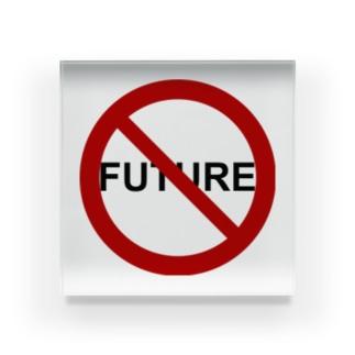 NO FUTURE Acrylic Block