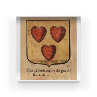 フランスの紋章 Acrylic Block