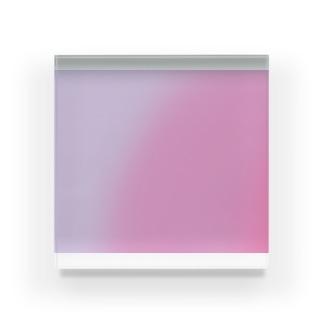 パステルglow Acrylic Block