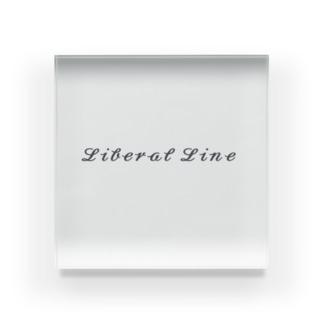 Liberal Lineシリーズ Acrylic Block