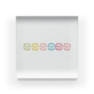 良き湯浴み Acrylic Block