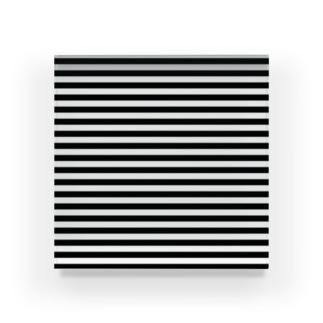 シンプルボーダー 黒 Acrylic Block