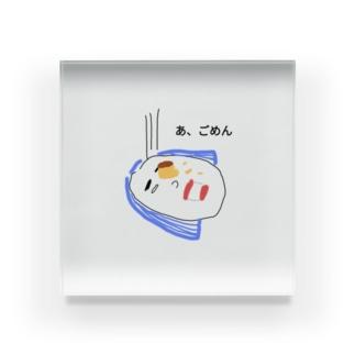 不運のヨシヱ Acrylic Block