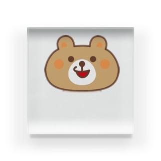 くまきちゲームCHオンラインSHOPのくまきち@ゲーム実況 Acrylic Block
