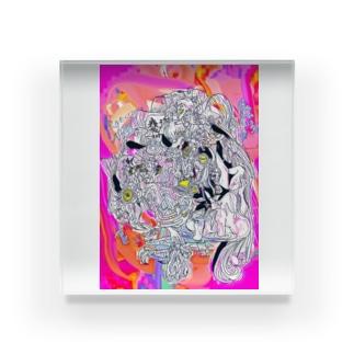 メーテイ Acrylic Block