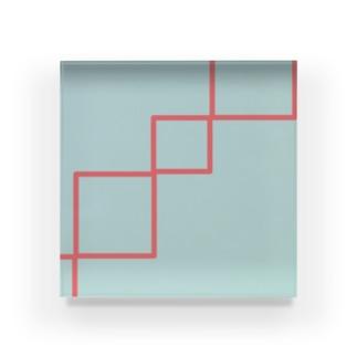 シンプル、おしゃれ Acrylic Block