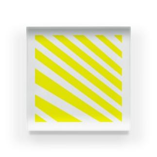 しましま -さわやか- Acrylic Block
