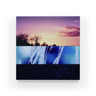 BRILLIANT LANDSCAPE Acrylic Block