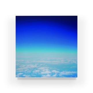 ABOVE THE SKY Acrylic Block