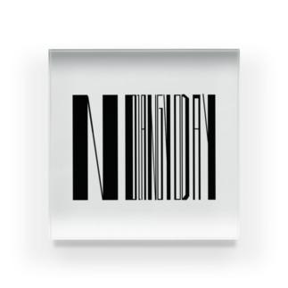 NO ZANGYO DAY 〜ノー残業デイ〜 Acrylic Block