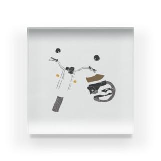 バイク 色 Acrylic Block