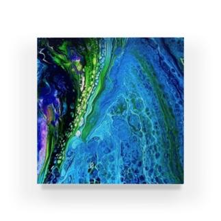 エネルギーアート〖深海〗 Acrylic Block
