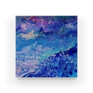 エネルギーアート〖愛海〗 Acrylic Block