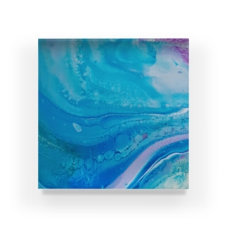 エネルギーアート〖優海〗 Acrylic Block