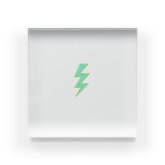 ショッキング稲妻⚡️ Acrylic Block