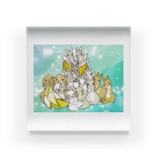小田原ファミリー(2ぴょん追加ver.) Acrylic Block