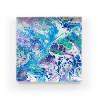 エネルギーアート〖調和〗 Acrylic Block