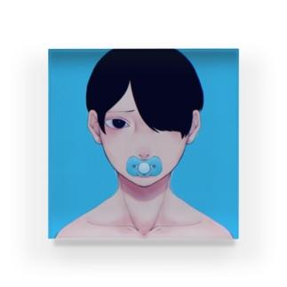 おーちゃん Acrylic Block