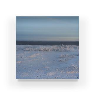世界の風景:Arctic2 Acrylic Block