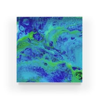 エネルギーアート〖遊楽〗 Acrylic Block