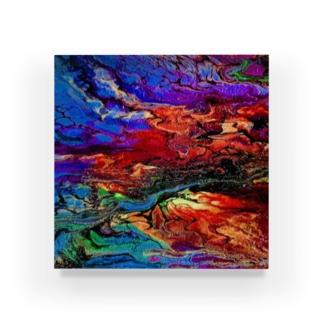 MAIMIのエネルギーアート〖神宿〗 Acrylic Block