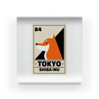 柴犬 東京 Acrylic Block