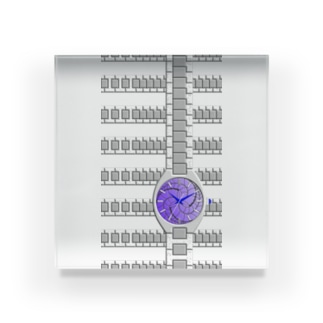 腕時計(藤巴紋) Acrylic Block