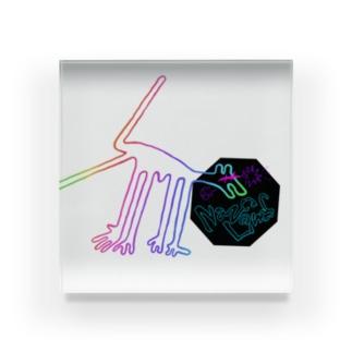 NazcaLines Dog Acrylic Block