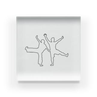 バンザイ02 Acrylic Block