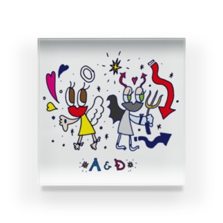 AandD Acrylic Block