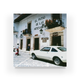 メキシコ:タスコの商店 Mexico: Shops in Taxco Acrylic Block