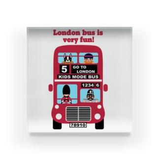 楽しいロンドンバス♪ Acrylic Block