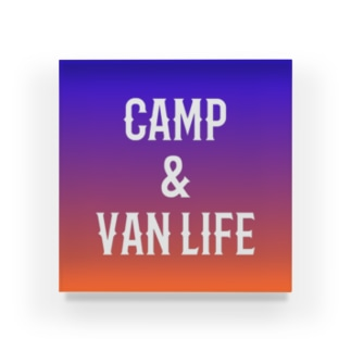 CAMP & VAN LIFE8 Acrylic Block