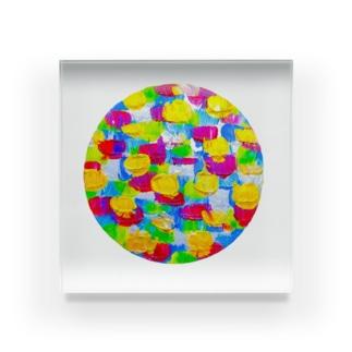 旬。 Acrylic Block