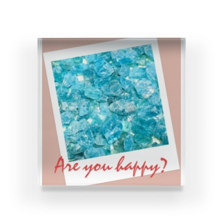 Are you happy? Acrylic Block