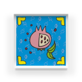 三柑正方形 Acrylic Block