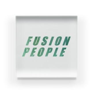 fusion people Acrylic Block