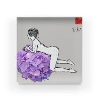花・女1 FLOWER・WOMAN1 Acrylic Block
