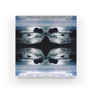 空と海 Acrylic Block