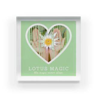 lotus magic ✴︎ Acrylic Block