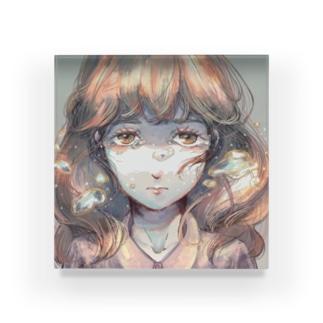 涙 Acrylic Block