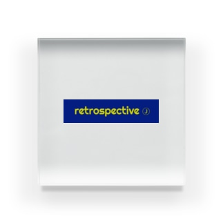 retrospective_japan Acrylic Block