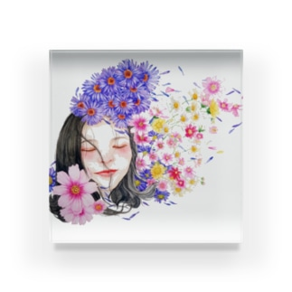 恋する乙女 Acrylic Block