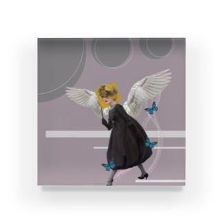 モノクロ天使 Acrylic Block