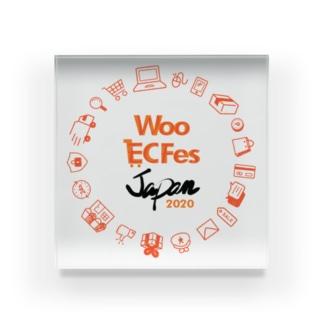 Woo EC Fes アクリルブロック Acrylic Block