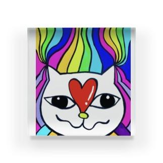 猫やん🎶 Acrylic Block